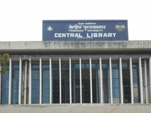 Tribhuvan University(Central Library) Nepal