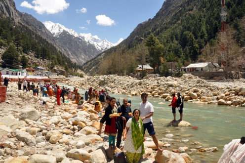 People of all ages, all nationalities and all orientations come to Gangotri and find tranquility in the lap of nature.