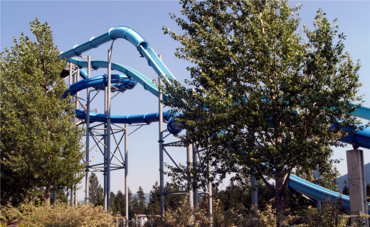 Water slides for the speed demons of the group