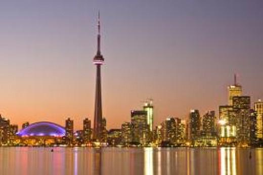 Toronto At Dusk