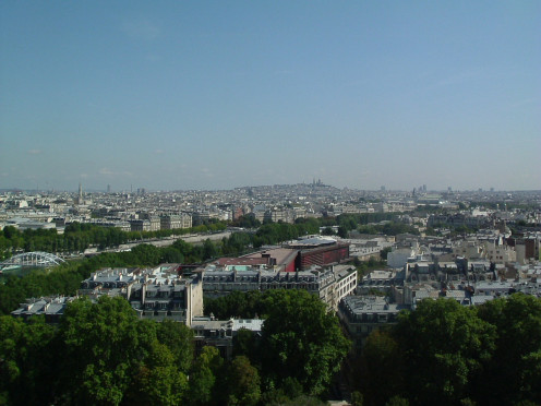 From the Eiffel Tower over to Montmatre & Le Sacré Coeur Basilica