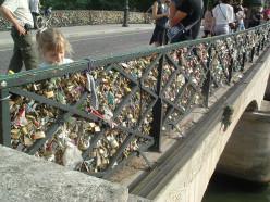 Padlocks on the Bridges