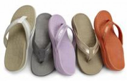 ORTHOTIC FLIP-FLOPS WITH ARCH SUPPORT