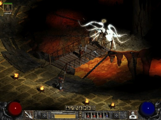 Diablo II has some of the best looking angels in any game.