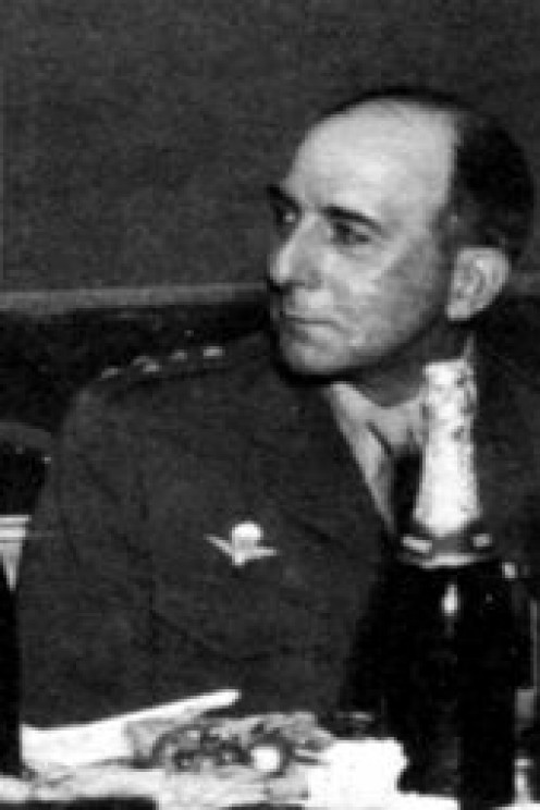 French General de Lattre de Tassigny, Berlin, June 5, 1945