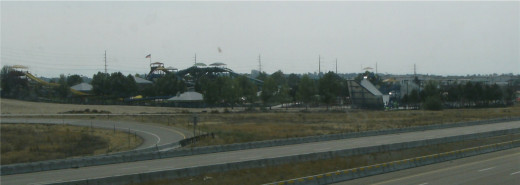 Roaring Springs, seen  from I84