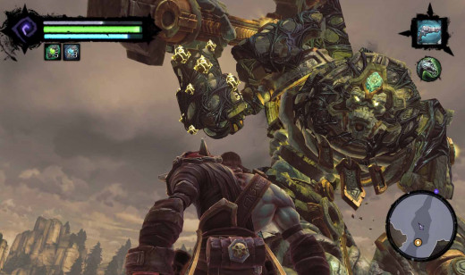 Darksiders 2 - the hero facing his most formidable opponent yet........