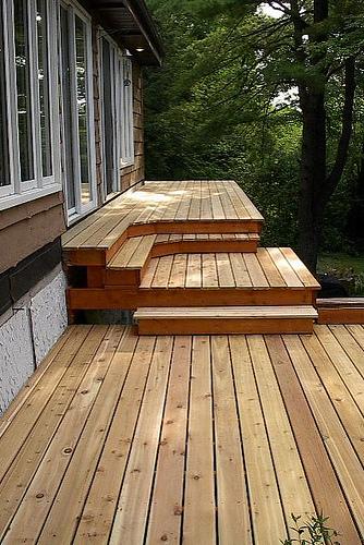 Types Of Outdoor Decking Materials Dengarden