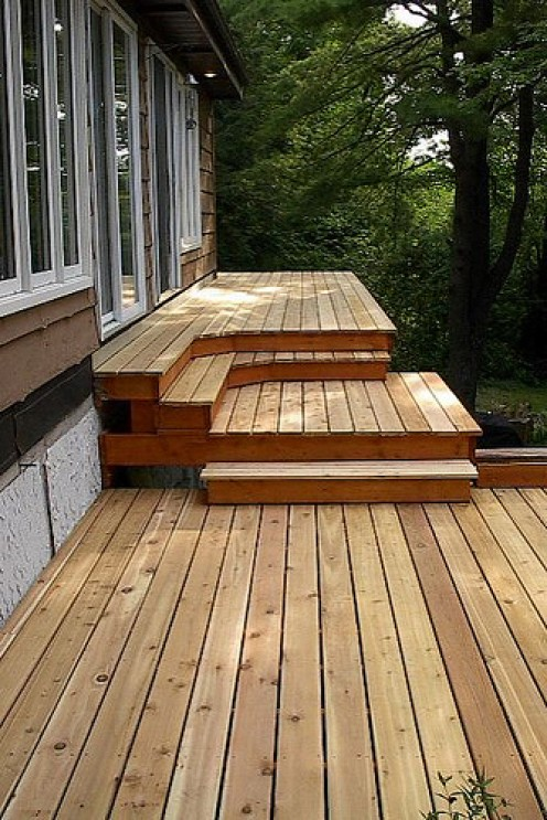 types of outdoor decking materials dengarden