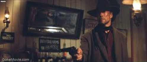 The Unforgiven was written and directed by Clint Eastwood and he starred in the film with Morgan Freeman.