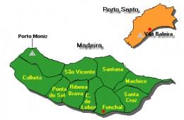 Autonomous Region of Madeira Island is made of 11 municipalities