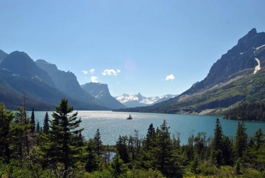 Wild Goose Island - Glacier National Park