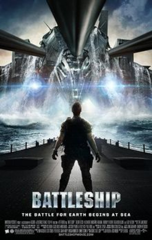 Theatrical Poster for Battleship
