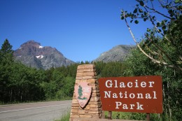 Glacier National Park Entrance