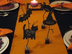 Simply Spooky Halloween Place Cards