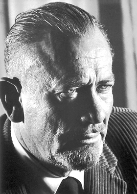 John Steinbeck, author of The Grapes of Wrath.
