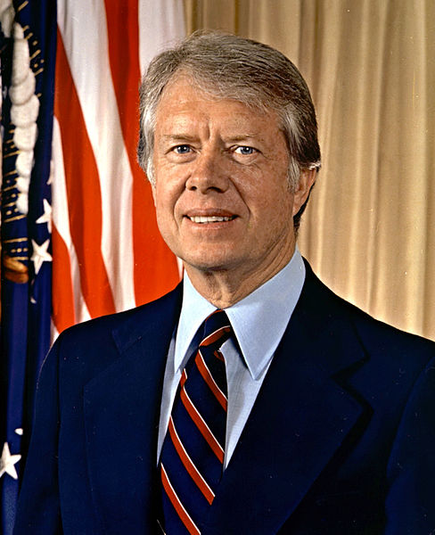 Former President Jimmy Carter, a nice guy with incredibly bad judgment.