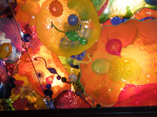 Dale Chihuly Glass Sculpture in Seattle, WA