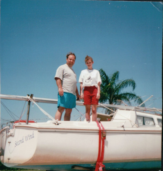 You had plans to take the sailboat to Florida that winter with a friend.