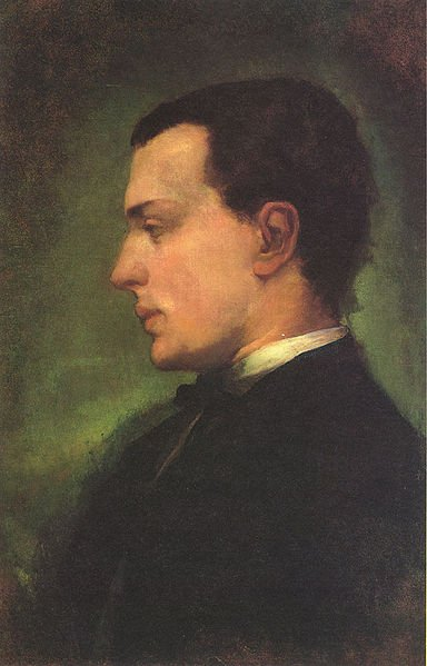 A portrait of Authour Henry James who wrote the Bostonians.