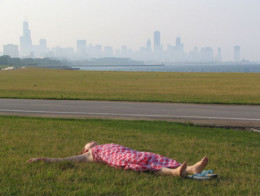If you can't find an open field to lie down on, check out these handy techniques for relieving stress.