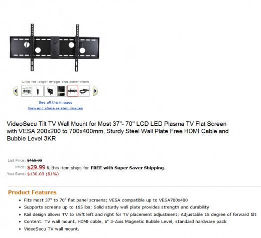Cheap TV Wall Bracket