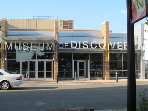 Museum of Discovery, remodled and endowed with Science and Technology, Hands-on Fun.