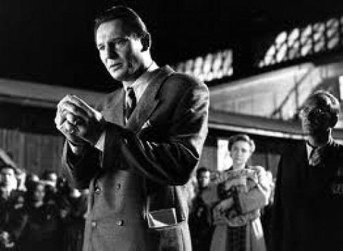 Schindler's List is a Stephen Spielberg film about the Holocaust. It is filmed in black and white and Oskar Schindler is played by Liam Neesan.