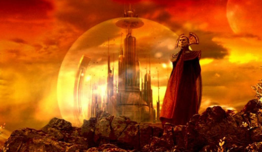 The Citadel of the Time Lords, Gallifrey