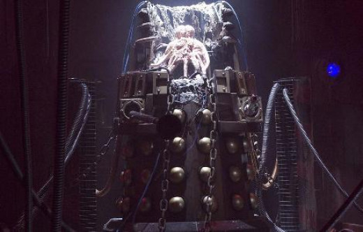 The Creature that resides in the Dalek's outer shell