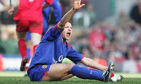 Alan Smith's leg injury in the match against Liverpool in 2006.