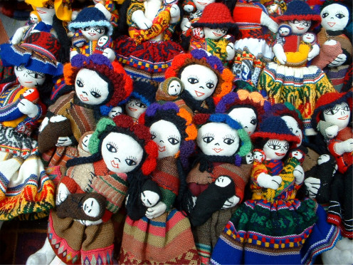 "Beautiful, handmade dolls like these will appeal to a ""niche"" within the market for all dolls."