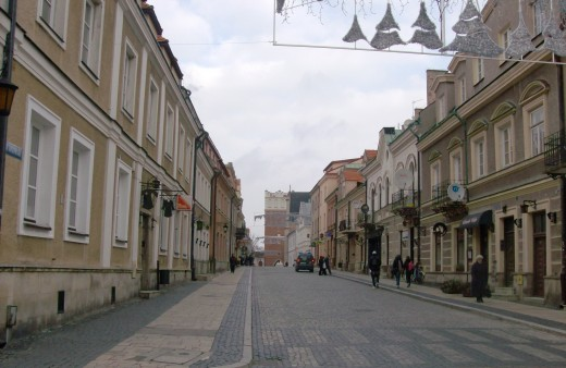 "The City Center of Sandomierz, Poland. It is commonly reffered to as ""Stary Miasto"" (""Old Town"" in English). I currently reside in Sandomierz."