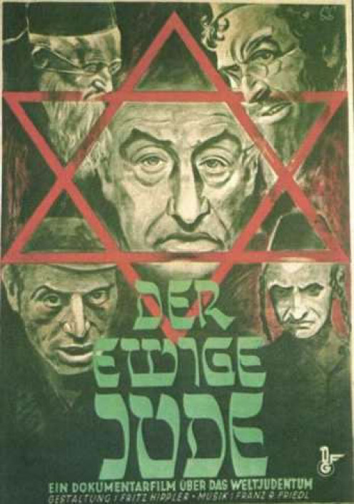 Anti-Semitic Nazi propaganda