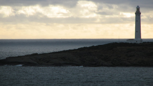 Cape Leeuwin Lighthouse, Western Australia - where the Indian Ocean meets the Southern Ocean.