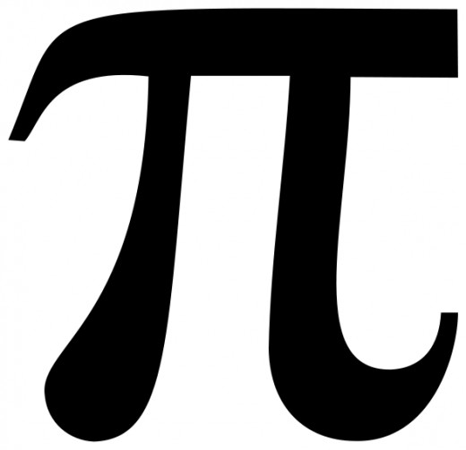 the mathematical symbol for Pi