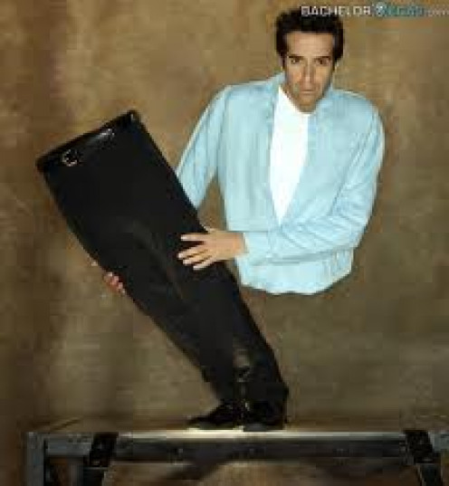 David Copperfield's illusions are outstanding and no one comes close to the mystique of this magician. He has been on too of his profession for over 30 years.