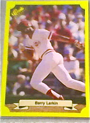 Barry Larkin was just getting started in his rookie year as the leader of the Little Red Caboose that would follow the legendary Big Red Machine.