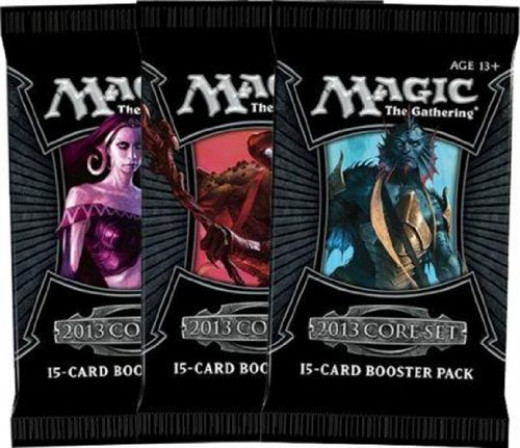 The 2013 Booster Packs