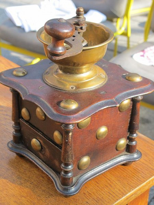 Flea markets are hot-beds of inexpensive and historical antiques.