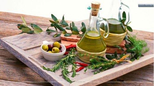 Olive oil for soft smooth skin