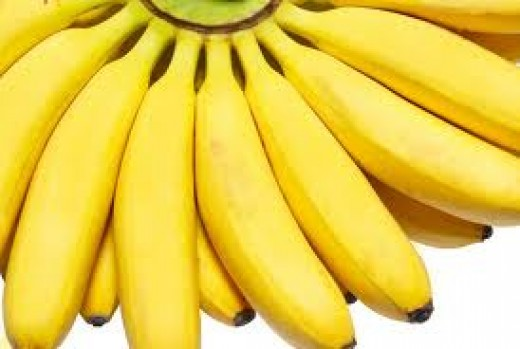 Soften your skin with bananas