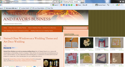 How the Etsy Mini becomes a widget inserted into the sidebar on a blog as a widget. I LOVE THIS!