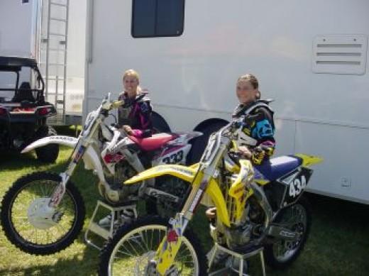 Casey and Megan Jordan at Ponca National.