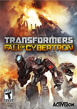 Box Art for Transformers: Fall of Cybertron