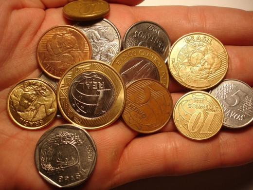 Coins are probably the most common valuable you can find outdoors.