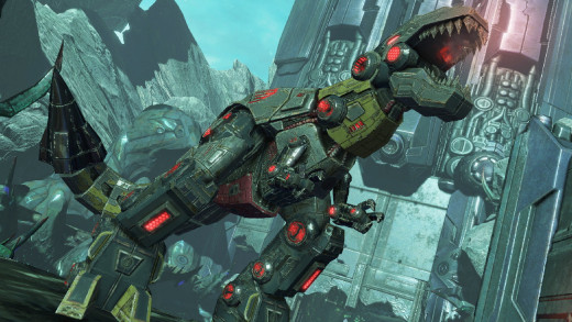 Grimlock in Transformers: Fall of Cybertron