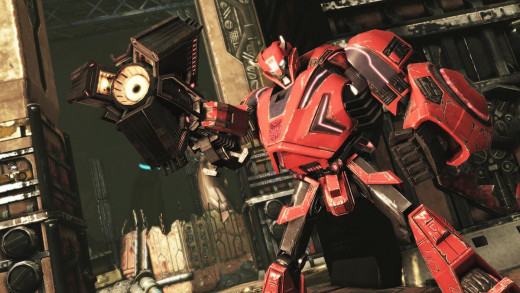 Cliffjumper in Transformers: Fall of Cybertron