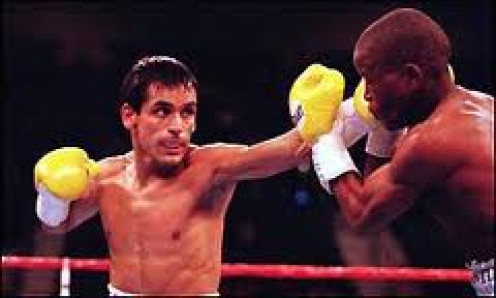 Ricardo Lopez retired undefeated with a record of 50 wins, no losses and one draw that was  avenged. He was a master boxer with power to finish opponents in both hands.
