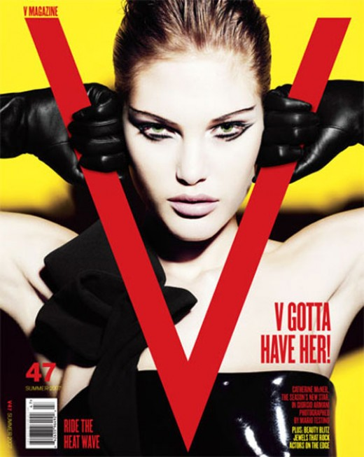 Catherine McNeil On V Magazine Cover